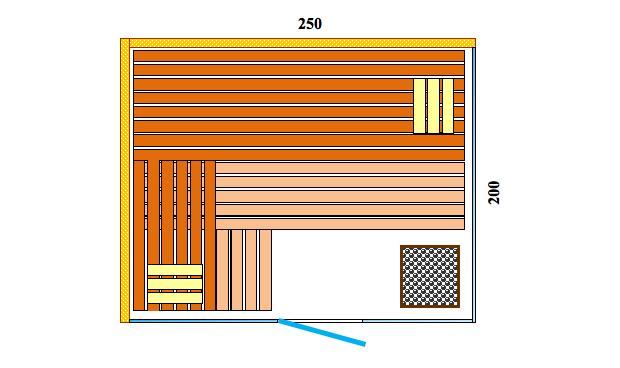 Schiţe Sauna Pro Panorama